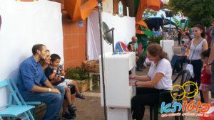 שתי עמדות פוטותא ביום כיף לאלפי משפחות עובדי חברת הייטק בסופרלנד
